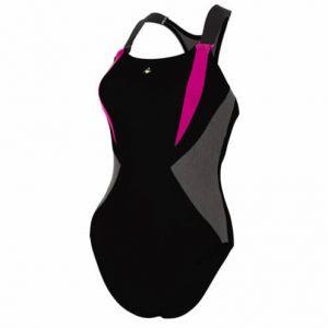 aqua sphere siskin wide strap swim costume