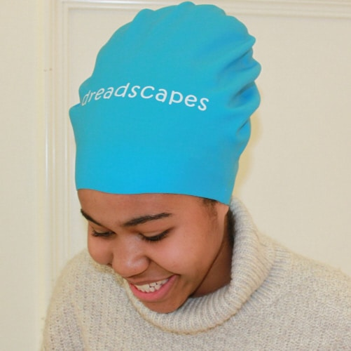 dreadscapes extra large locks braids waterproof silicone swim cap