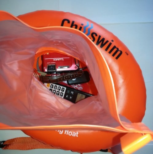 swim secure chillswim inflatable dry bag donut