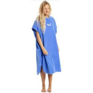 robie robies changing towel robe blue